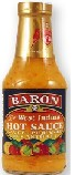 Baron's Hot sauce  12 in